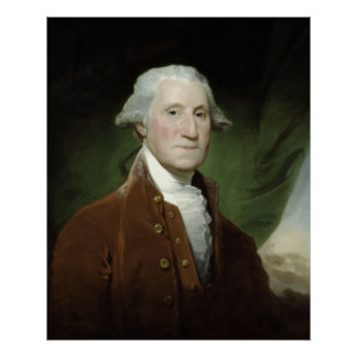 President George Washington Painting Poster