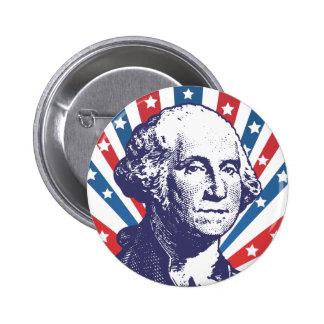 president George Washington Pinback Button