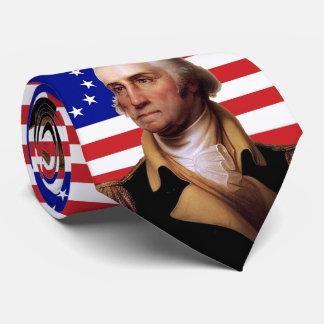 President George Washington & U.S. Flag Neck Tie