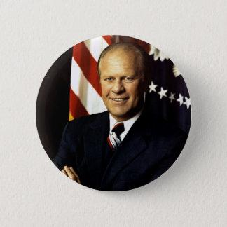 President Gerald Ford Portrait Button