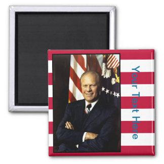 President Gerald Ford Portrait Magnet
