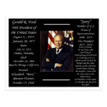 President Gerald Ford Postcard