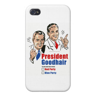 President Goodhair iPhone 4/4S Cases