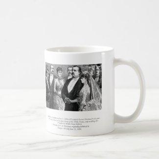 President Grover Cleveland Wedding Mug