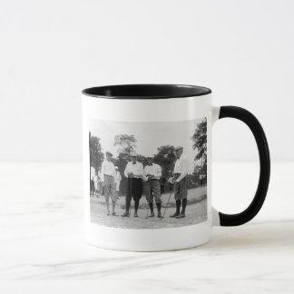 President Harding Golf Foursome, 1920s Mug