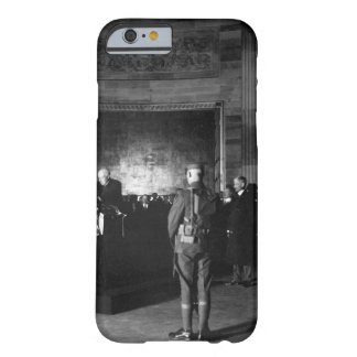 President Harding placing wreath_War Image Barely There iPhone 6 Case
