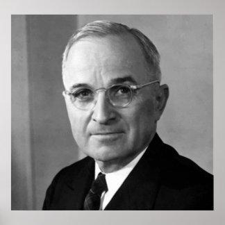 President Harry S. Truman -- Border Poster