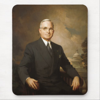 President Harry Truman Mouse Pad