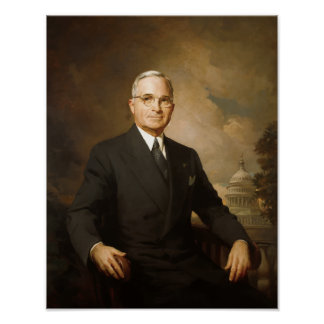 President Harry Truman Posters