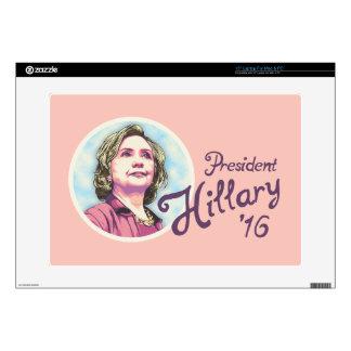 President Hillary Laptop Decal