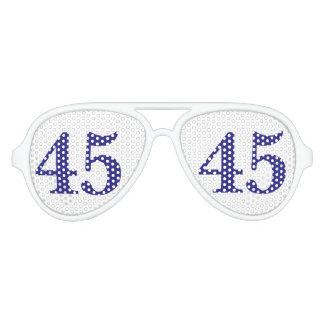 President Hillary Rodham Clinton, 45 Aviator Sunglasses
