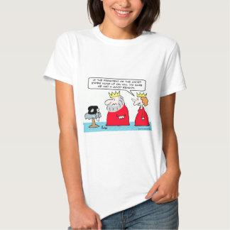 president hung up king tee shirts