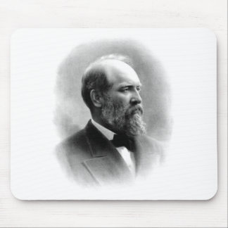 President James Garfield Mouse Pad