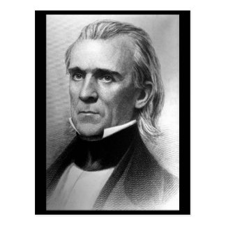 President James K. Polk, c_America Grows_Image Postcard