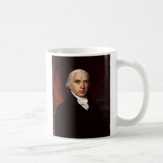 President James Madison Portrait by John Vanderlyn Coffee Mug