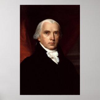 President James Madison Portrait by John Vanderlyn Poster