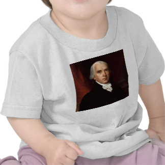 President James Madison Portrait by John Vanderlyn Tshirt