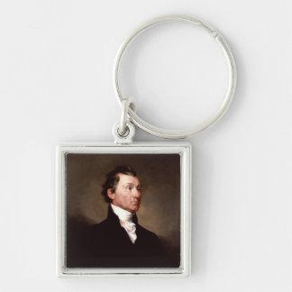 President James Monroe portrait Keychain