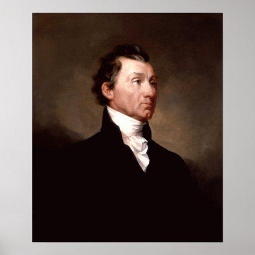 President James Monroe Portrait Print