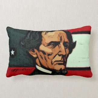 President Jefferson Davis Lumbar Pillow