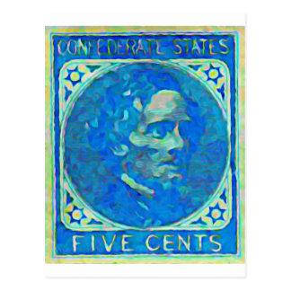 President Jefferson Davis Postcard
