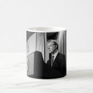 President Jimmy Carter Classic White Coffee Mug