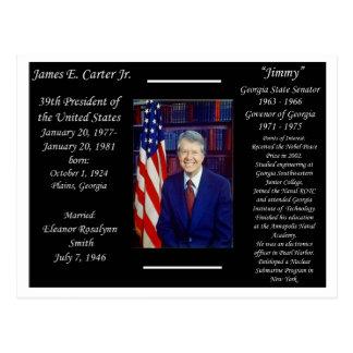 President Jimmy Carter Postcard