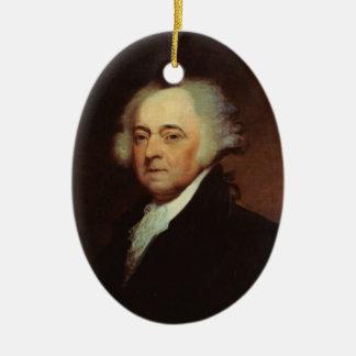President John Adams Ornament