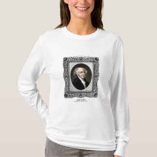 President John Adams Portrait T-Shirt