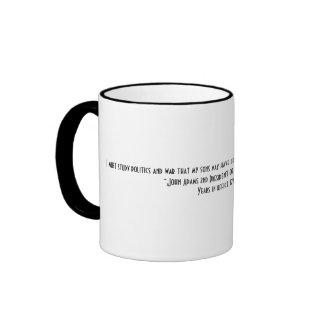 President John Adams Quote Coffee Mug