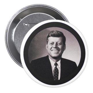 President John F. Kennedy 3 Inch Round Button