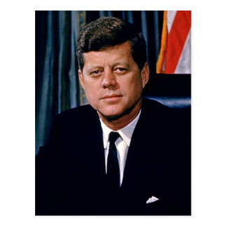 President John F. Kennedy Postcard