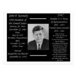 President John F Kennedy Postcards
