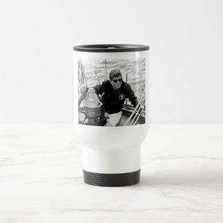 President John Kennedy Sailing Coffee Mug