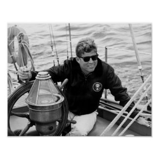 President John Kennedy Sailing Posters