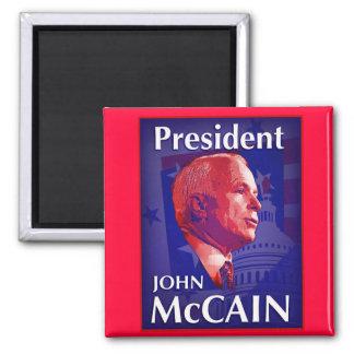 President John McCain Magnet
