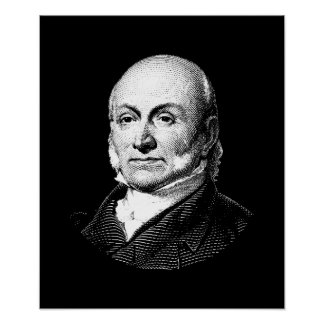 President John Quincy Adams Graphic Poster