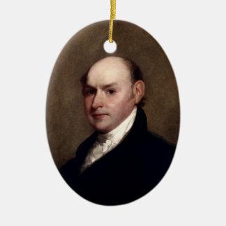 President John Quincy Adams Ornament