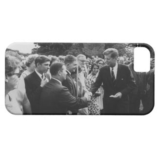 President Kennedy Greets Peace Corps Volunteers iPhone 5 Cover