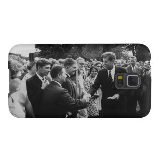 President Kennedy Greets Peace Corps Volunteers Galaxy S5 Cover