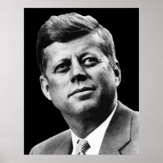 President Kennedy print