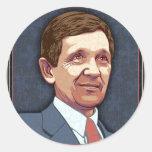 President Kucinich Classic Round Sticker