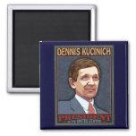 President Kucinich Fridge Magnet