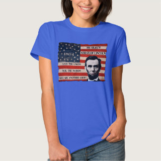 President Lincoln 1864 Campaign T-Shirt