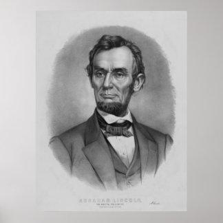 President Lincoln Artwork Posters