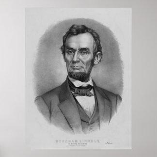 President Lincoln Artwork Print