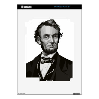 President Lincoln Decals For iPad 2