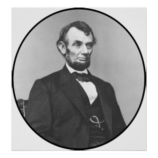 President Lincoln During The Civil War Poster
