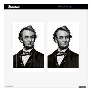 President Lincoln Kindle Fire Decal
