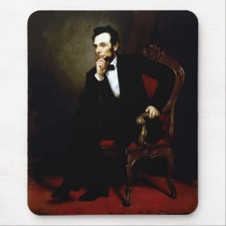 President Lincoln Painting Mouse Pad